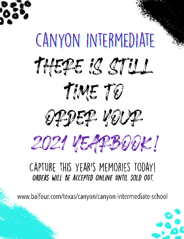 CIS Yearbook order extended