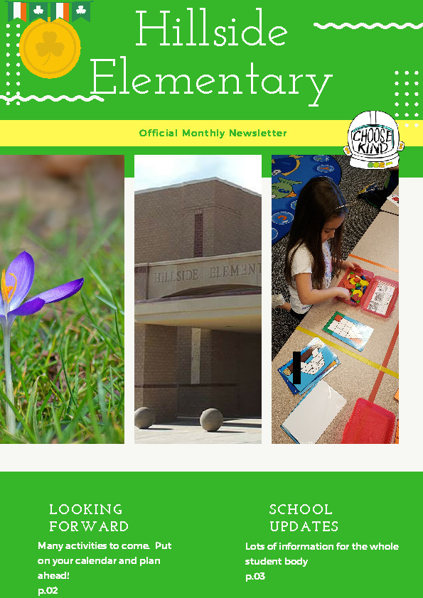 All School News for March