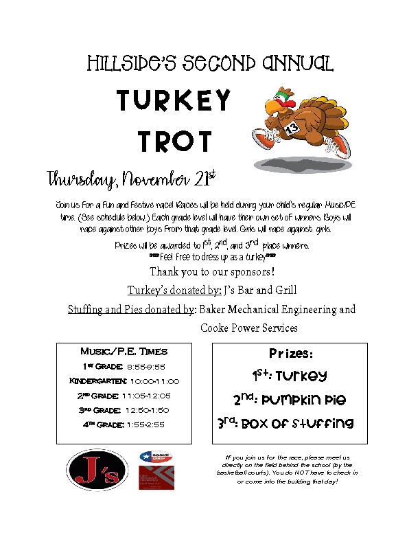 2nd Annual Turkey Trot