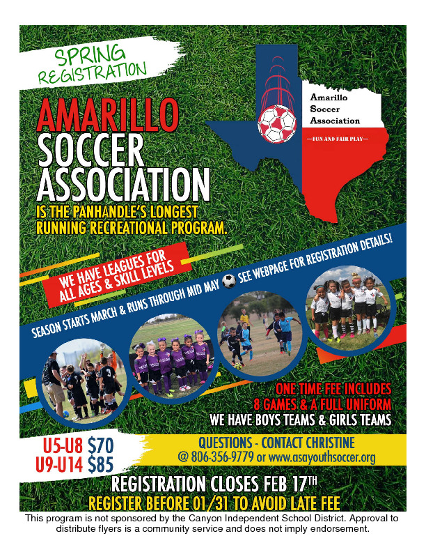 Its Soccer Season All Ages All Skill levels Sign up today