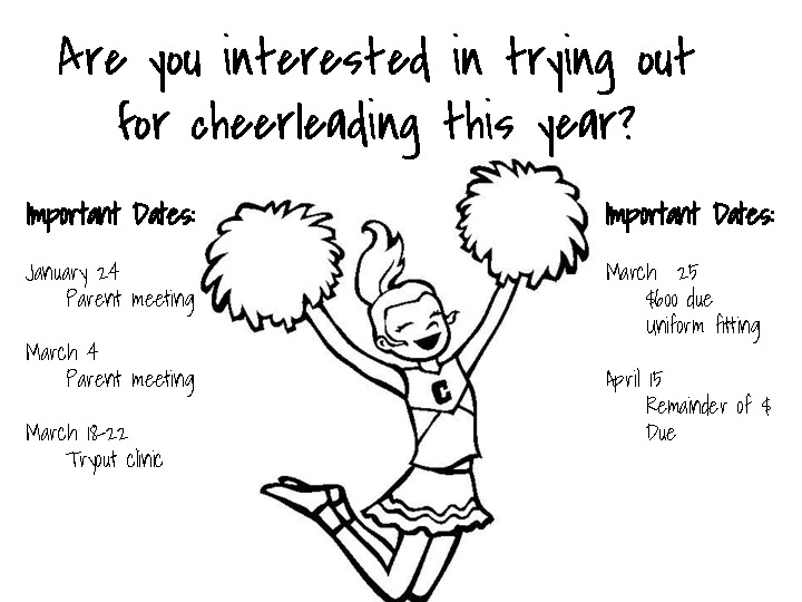 CHS Cheer Tryouts for the 2019 20 school year