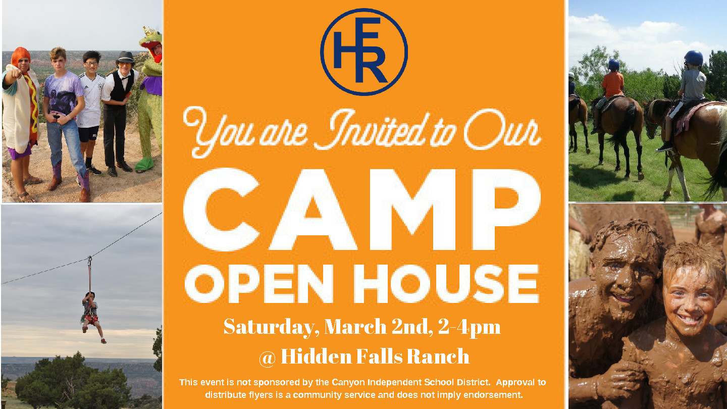 HFR Open House for Summer Camp