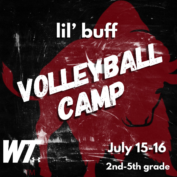 Time for some volley FUN Come join the Lady Buffs this summer For more information visit gobuffsgocom   summer camps