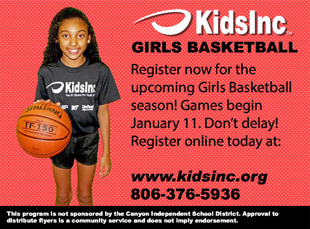 Girls Basketball Sign up