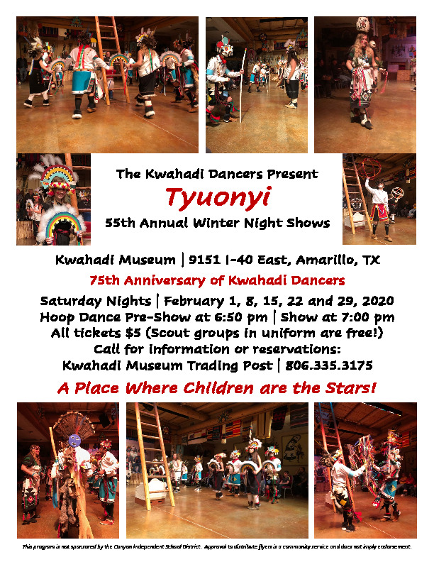 Kwahadi Dancers Winter Shows 2020