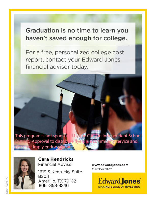 Have you saved enough for college Contact Cara Hendricks  806 358 8346 for your personalized cost evaluationreport